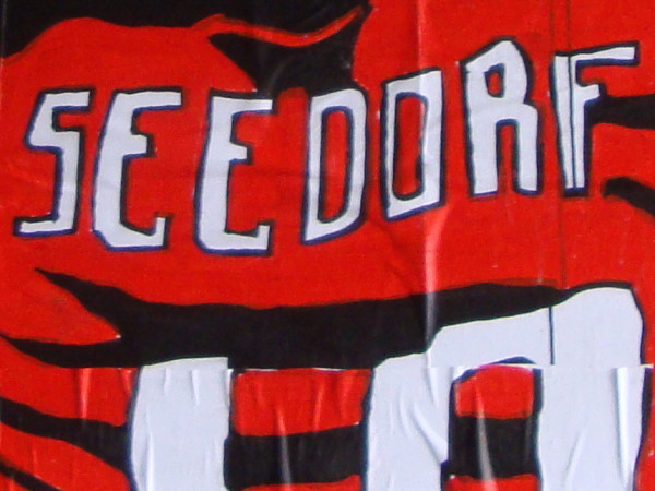 Clarence Seedorf number 10 for AC Milan