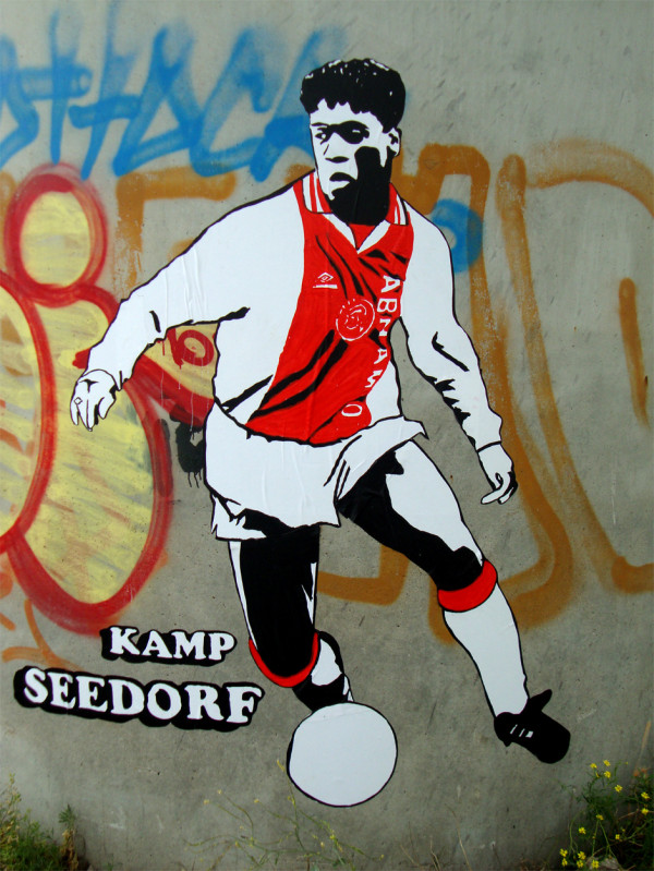 Clarence Seedorf in Ajax-tenue