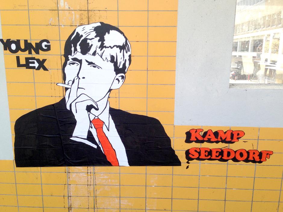 Young Lex streetart