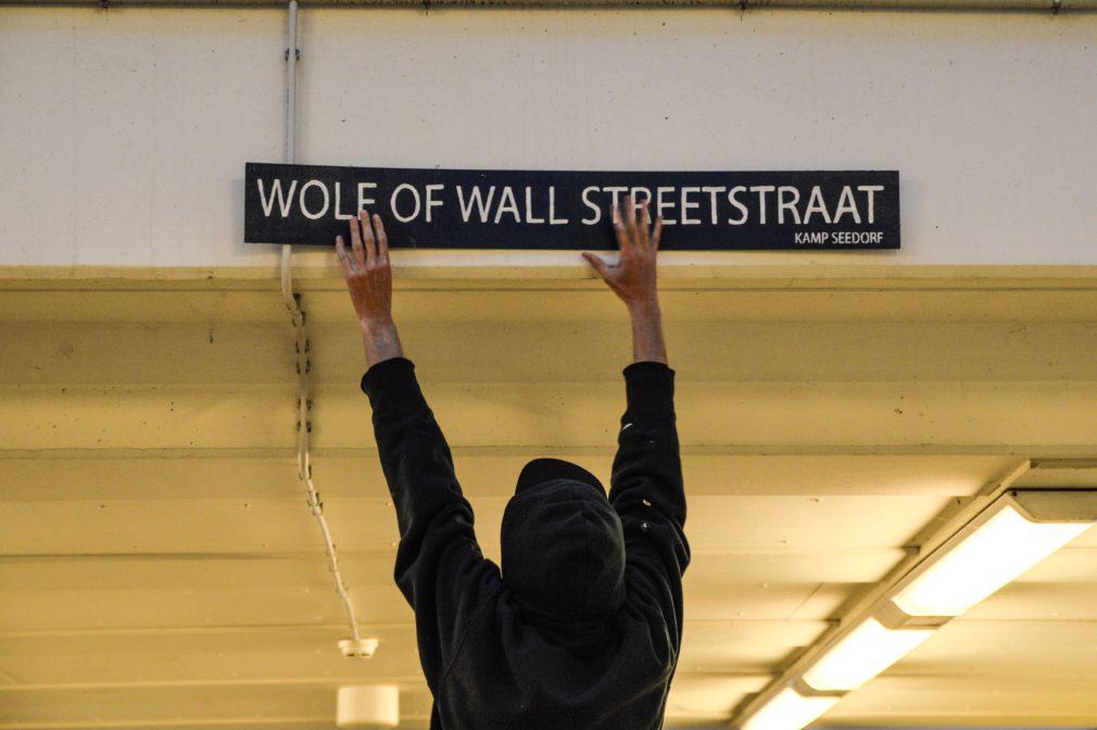 Wolf of Wallstreetstraat